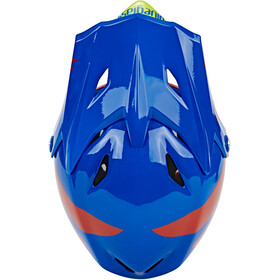 bluegrass Explicit Fullface Helm blue/red/green